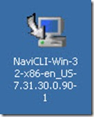 0 - click on the Naviclin-win-32 install file