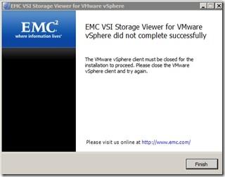 2 - Now close vSphere Client doh