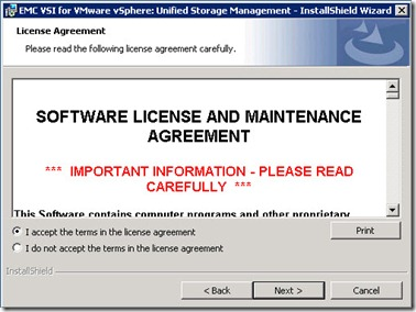 5 - accept the license agreement