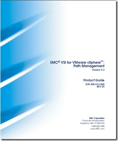 Cover of VMware vSphere Path Management Product guide