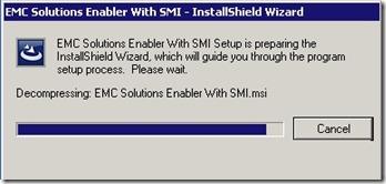 4 - install starts