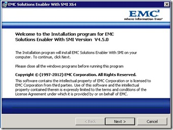 5 - the official install of SE with SMIS