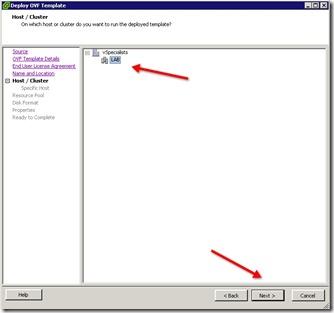 6 - Host Cluster info