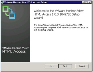 2 - Horion View HTML access install