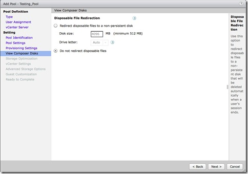 10 - change to do not redirect disposable files