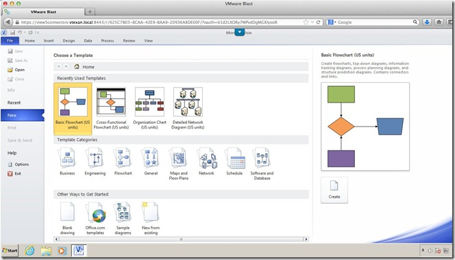 Visio on Apple Mac
